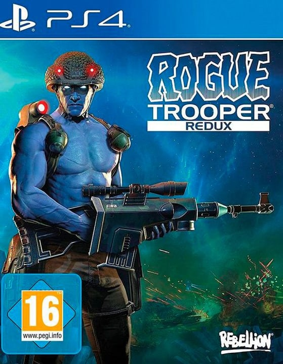 PS4 - Rogue Trooper Redux D Physique (Box) 785300130264 Photo no. 1