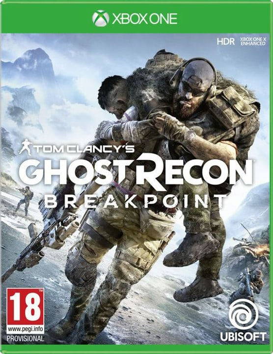 Xbox One - Tom Clancy's Ghost Recon: Breakpoint Box 785300144489 N. figura 1