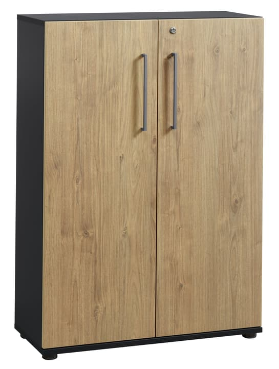 CONCEPT X Armoire basse 401829500000 Dimensions L: 82.5 cm x P: 35.0 cm x H: 115.9 cm Couleur Anthracite Photo no. 1