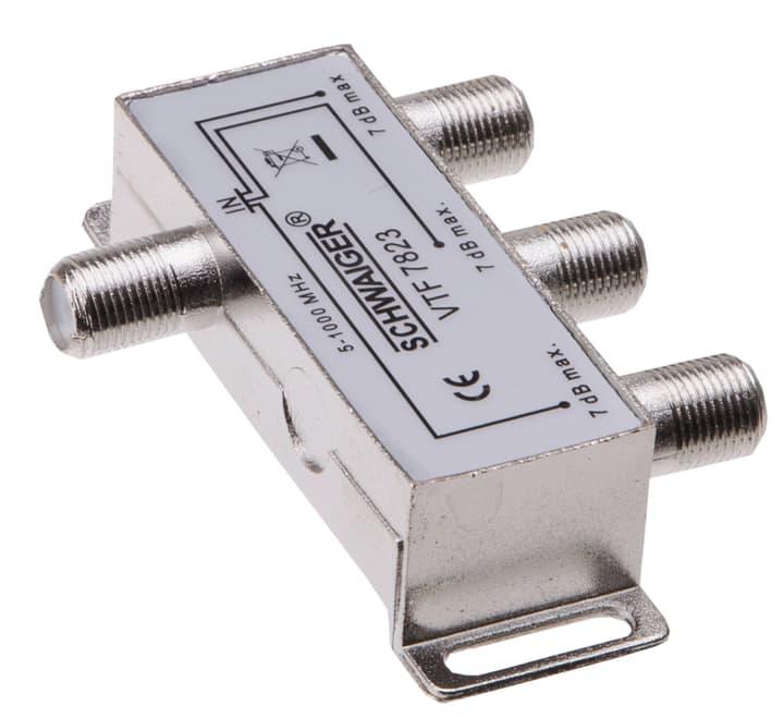 Distributore d'antenna Schwaiger 613141600000 Lunghezza cavo L:  N. figura 1