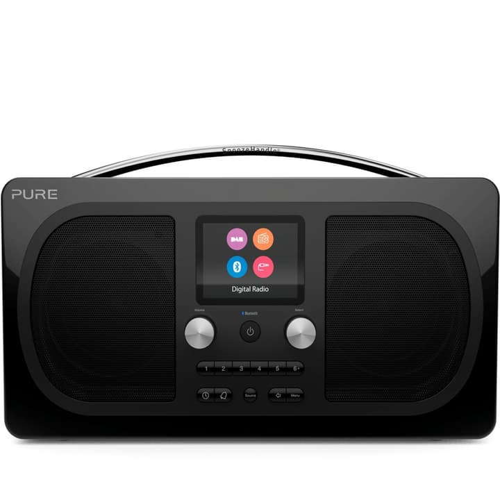 Evoke H6 - Prestige Schwarz DAB+ Radio Pure 785300134290 Bild Nr. 1