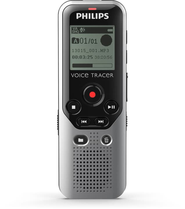 DVT1200 Voice Tracer Registratore digitale Philips 785300132566 N. figura 1