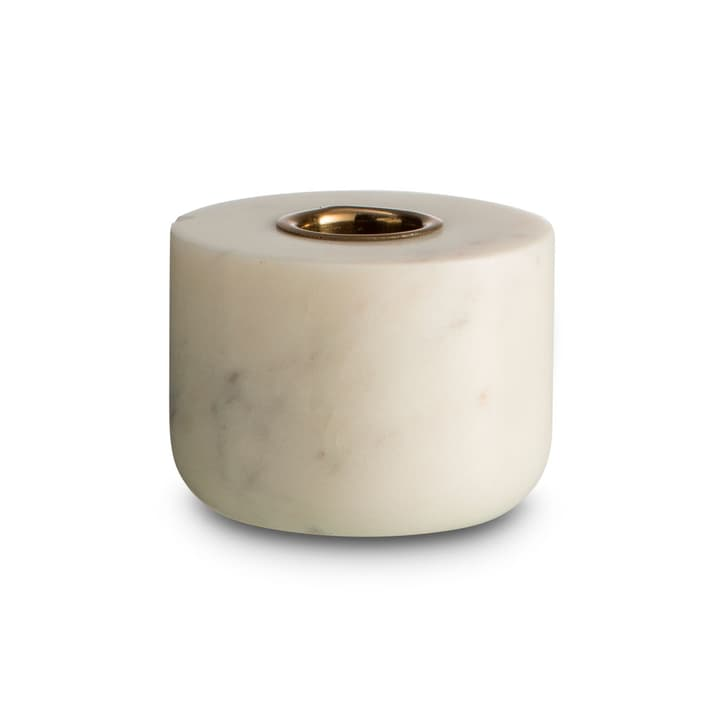 MARBLE II bougeoir 396080200000 Dimensions L: 7.0 cm x P: 7.0 cm x H: 5.0 cm Couleur Blanc Photo no. 1