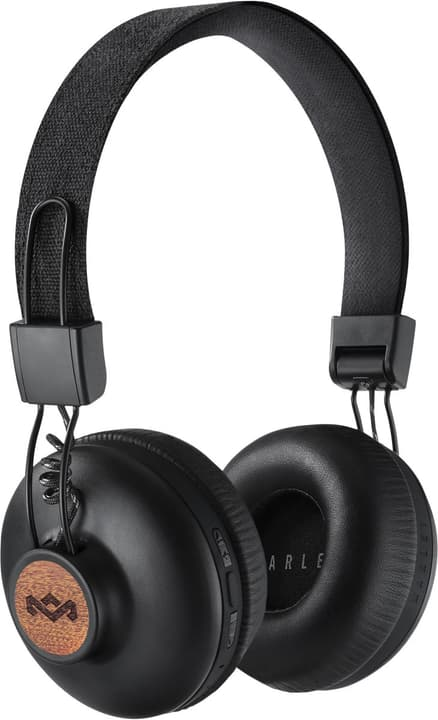 Positive Vibration 2.0  Bluetooth - Signature Black Cuffie On-Ear House of Marley 785300132080 N. figura 1