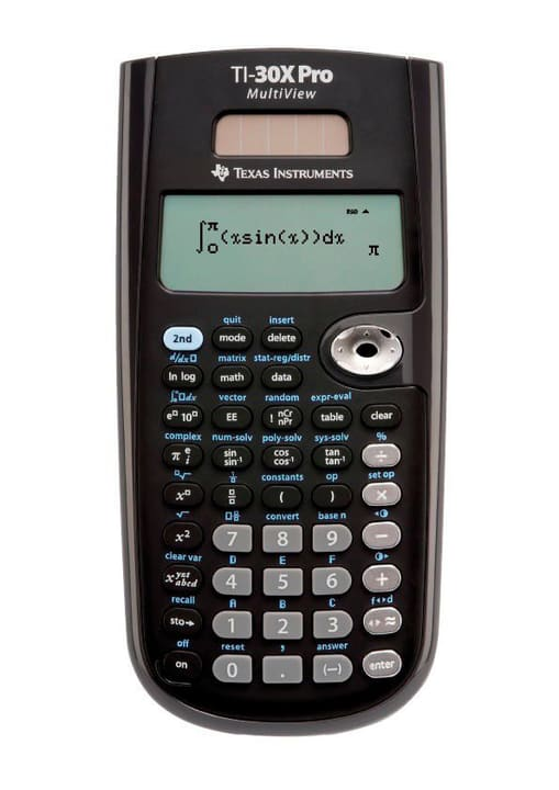 Calculatrice scientifique TI-30X Pro MultiView Texas Instruments 798214800000 N. figura 1
