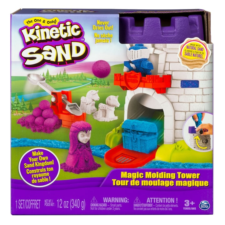 Kinetic Sand Magic Molding Tower 746128700000 Photo no. 1