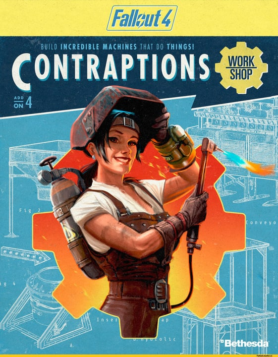 PC - Fallout 4 - Contraptions Workshop Download (ESD) 785300133797 Photo no. 1