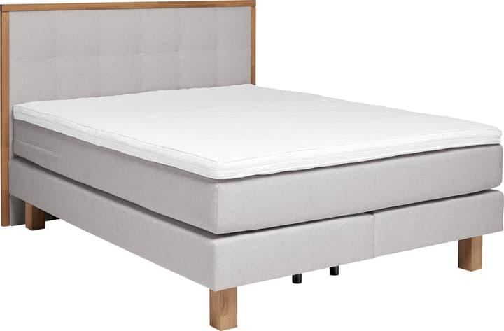 PRONTO Boxspringbett HASENA 403543400000 Grösse B: 160.0 cm x T: 200.0 cm Farbe Grau Bild Nr. 1