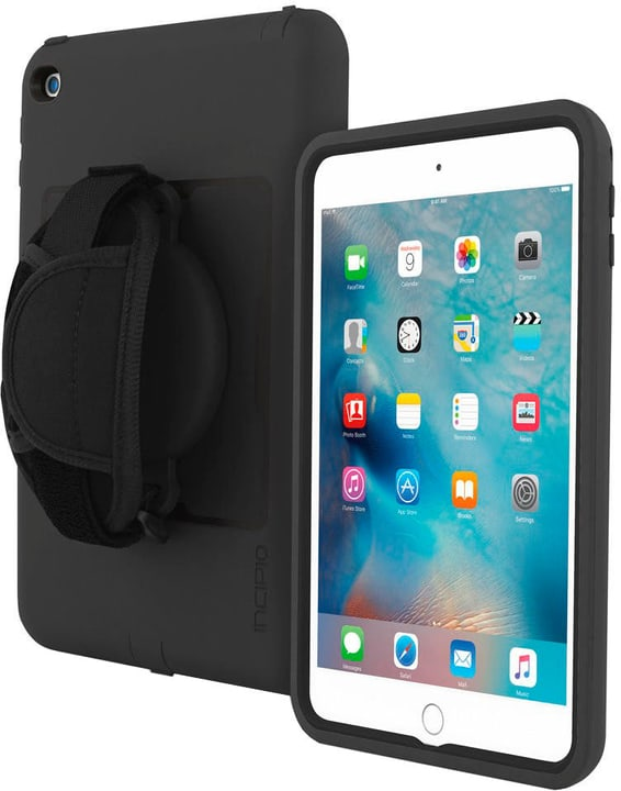 Capture Rugged Case with Handstrap for Apple iPad mini 4 black Incipio 785300137130 N. figura 1