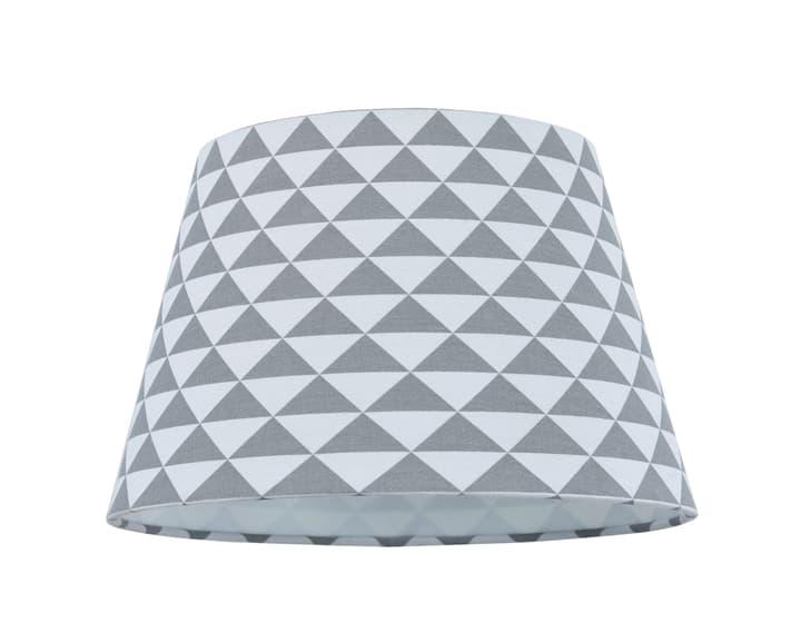 TREND Schirm 20cm Dreieckchen 420804402084 Grösse B: 20.0 cm x T: 20.0 cm x H: 14.0 cm x D: 20.0 cm Farbe Grau, Weiss Bild Nr. 1