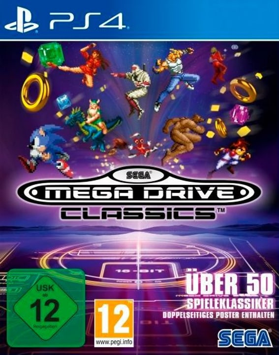 PS4 - SEGA Mega Drive Classics (D) Physique (Box) 785300134878 Photo no. 1