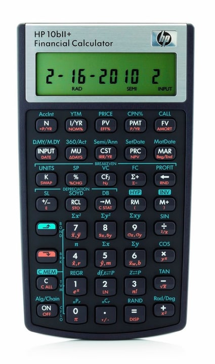 10bII+ DE/FR/IT Calculatrice HP 785300125151 Photo no. 1