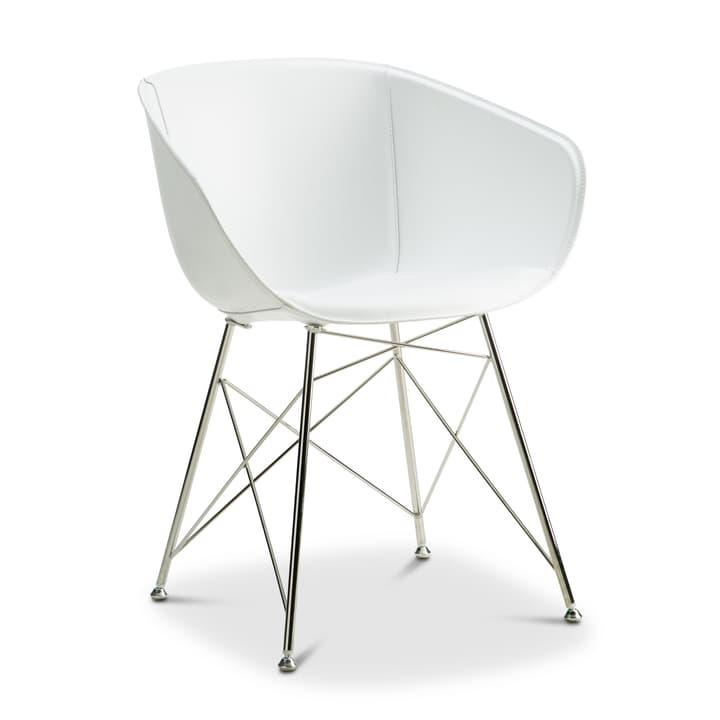 SEDIA Chaise avec accoudoirs 366171500000 Couleur Blanc Dimensions L: 45.0 cm x P: 58.0 cm x H: 81.0 cm Photo no. 1