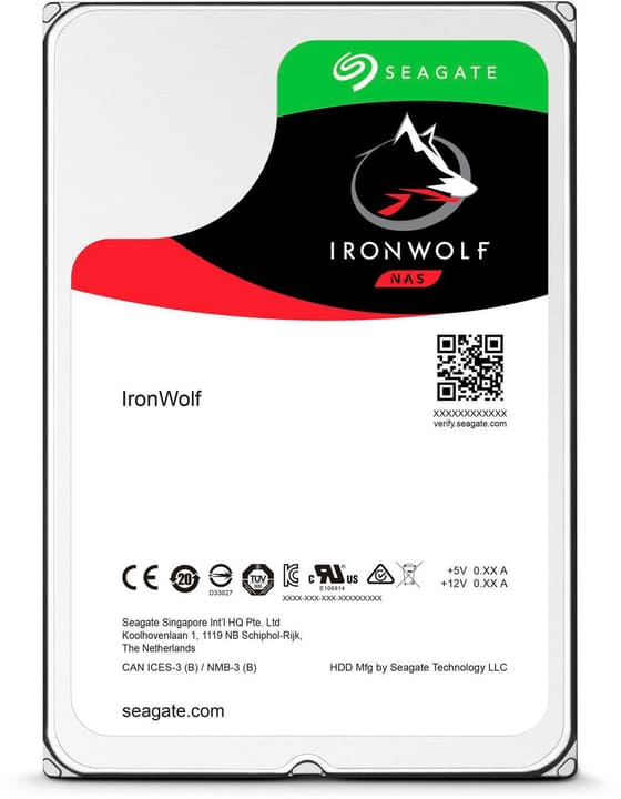 "IronWolf Pro SATA 3.5"" 4 TB Hard disk Interno HDD Seagate 785300145862 N. figura 1"