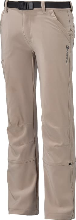 Pantalon de trekking pour fille Trevolution 464521012279 Couleur sable Taille 122 Photo no. 1