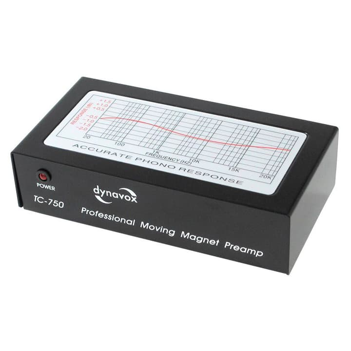 TC 750 - Nero Amplificatore Dynavox 785300122730 N. figura 1