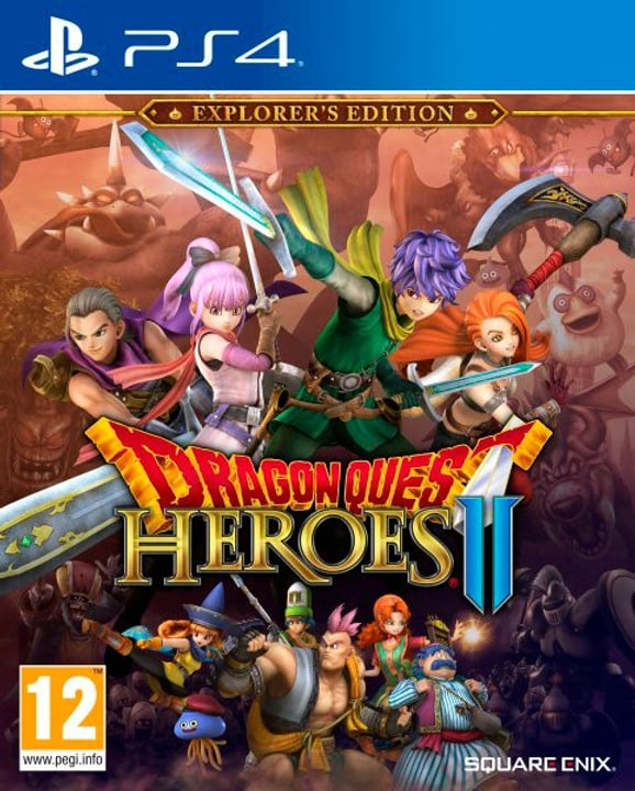 PS4 - Dragon Quest Heroes 2 Explorer's Edition Fisico (Box) 785300122059 N. figura 1
