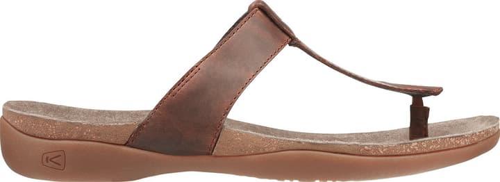 Dauntless Flip Tongs pour femme Keen 493437441070 Couleur brun Taille 41 Photo no. 1