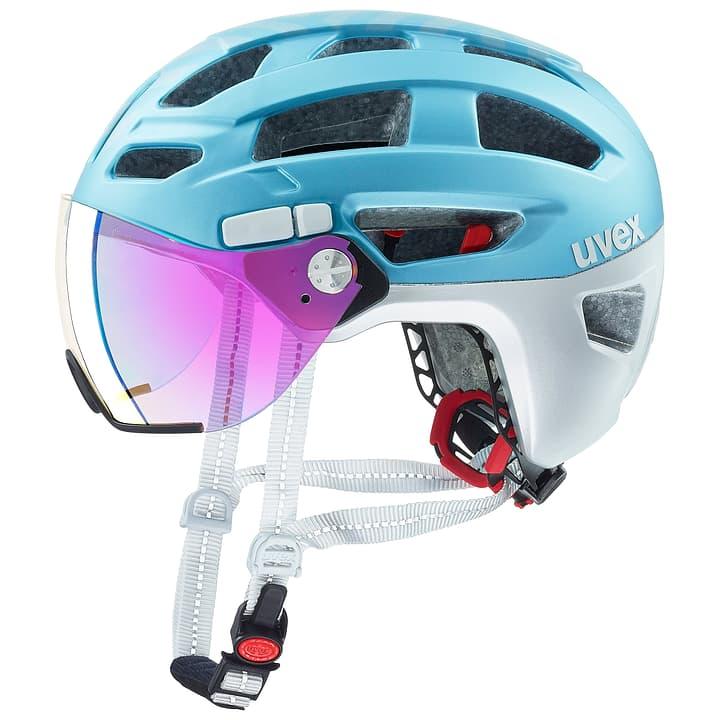 finale visor Bikehelm Uvex 461879152148 Farbe eisblau Grösse 52-57 Bild Nr. 1