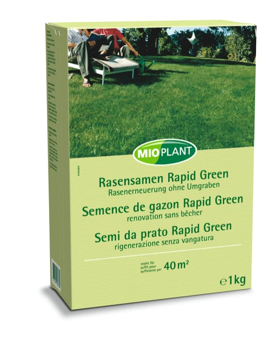 mioplant rasensamen rapid green 1 kg kaufen bei do it. Black Bedroom Furniture Sets. Home Design Ideas