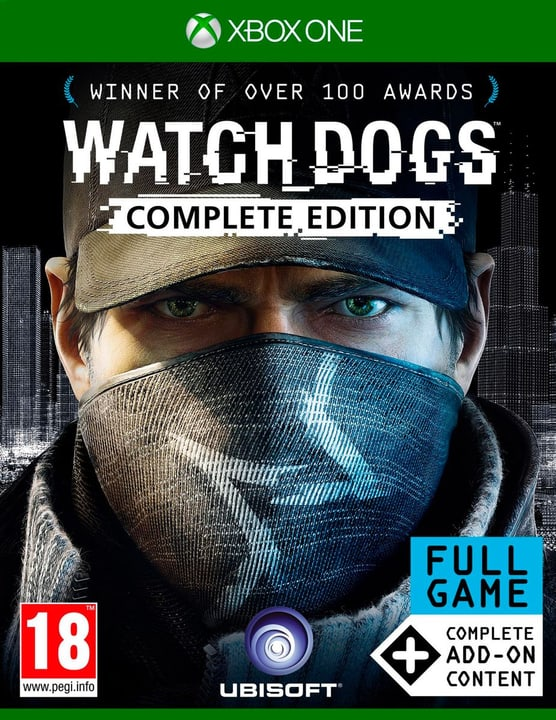 Xbox One - Watch Dogs Complete Edition Box 785300120903 Bild Nr. 1
