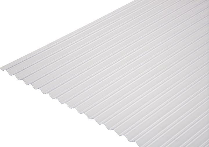 Plaques PVC à petites ondes 8/32 676423000000 Couleur Clair Taille L: 650.0 mm x L: 1000.0 mm x H: 8.0 mm Photo no. 1