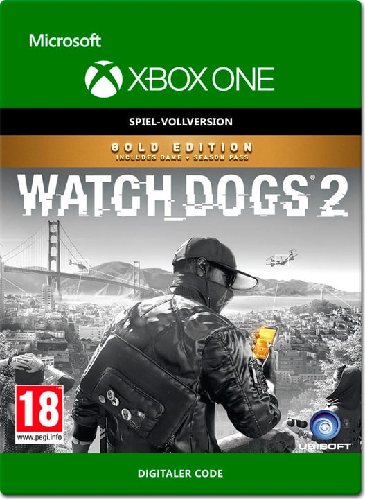Xbox One - Watch Dogs 2 Gold Edition Download (ESD) 785300137311 N. figura 1