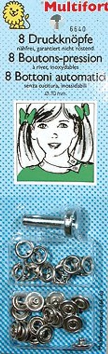 Bottoni automatici senza cucitura 10mm 8 pz. Dailylike by toga 665418400000 N. figura 1