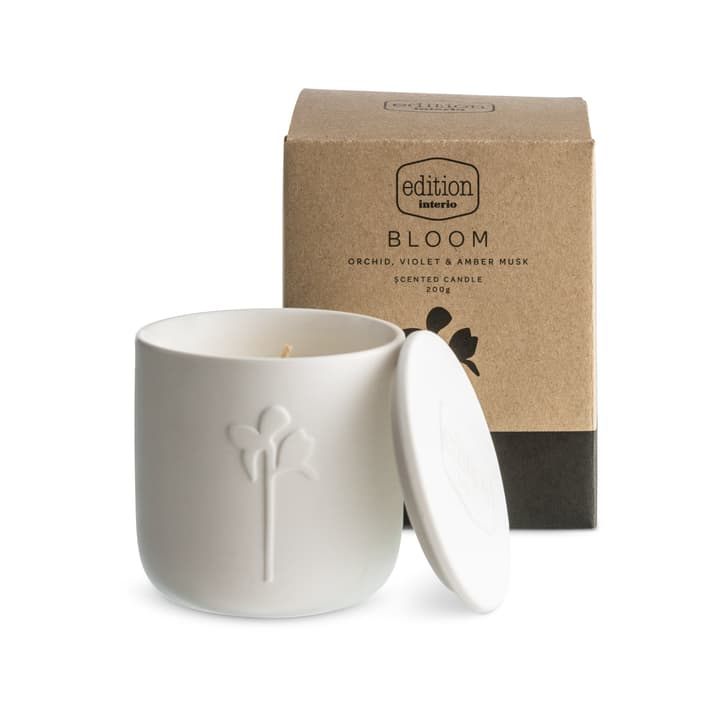 BLOOM bougie parfumée Orchid Edition Interio 396112600000 Contenu 200.0 g Arôme Orchideen Photo no. 1