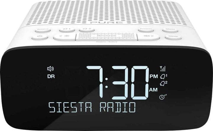 Siesta S2 - Blanc Radio réveil Pure 785300127368 Photo no. 1
