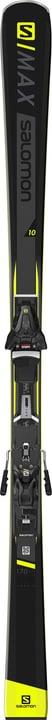 E S/Max 10 inkl. Z12 GW Skis On Piste avec fixations Salomon 464303916520 Longueur 165 Couleur noir Photo no. 1