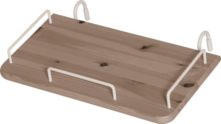 CLASSIC Table de chevet àsuspendre Flexa 404918400000 Dimensions L: 44.0 cm x P: 25.0 cm x H: 11.0 cm Couleur Terre Photo no. 1