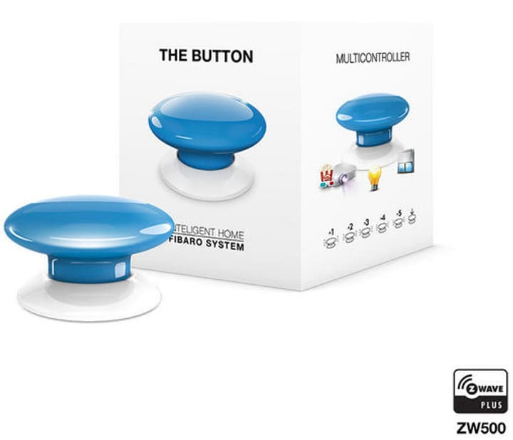 Z-Wave Button bleu Bouton intelligent Fibaro 785300132251 Photo no. 1