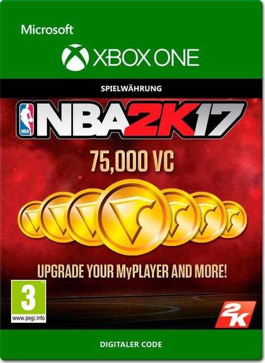 Xbox One - NBA 2K17: 75'000 VC Download (ESD) 785300137931 Photo no. 1
