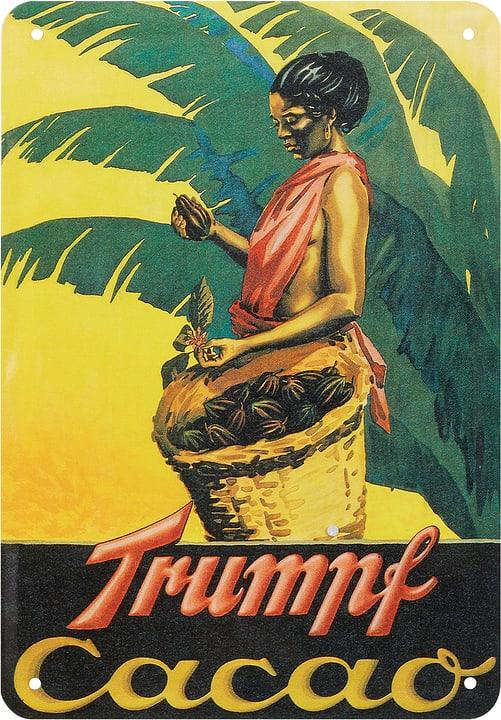 Werbe-Blechschild Cacao Trumpf 605056500000 Bild Nr. 1