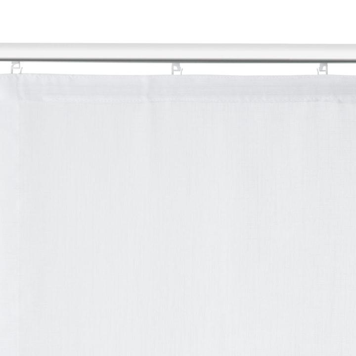 GÜLSHA Flächenvorhang 372023900000 Farbe Weiss Grösse B: 60.0 cm x H: 245.0 cm Bild Nr. 1