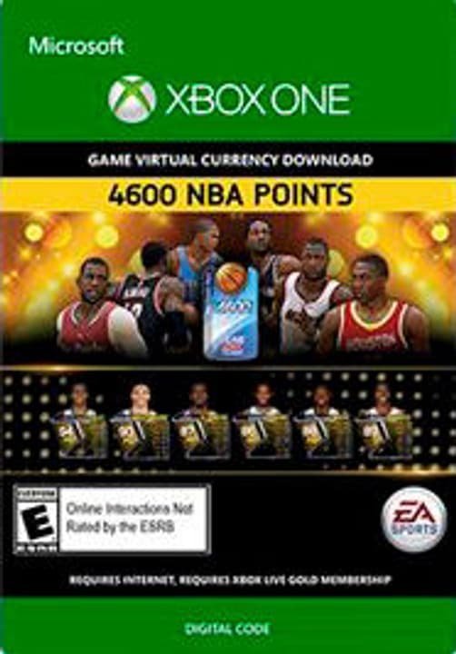 Xbox One -NBA Live 15: 4,600 NBA Points Numérique (ESD) 785300135779 Photo no. 1
