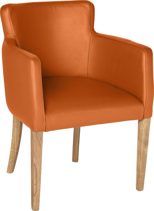 MORISANO Chaise 402358300057 Dimensions L: 56.0 cm x P: 46.0 cm x H: 79.0 cm Couleur Orange Photo no. 1