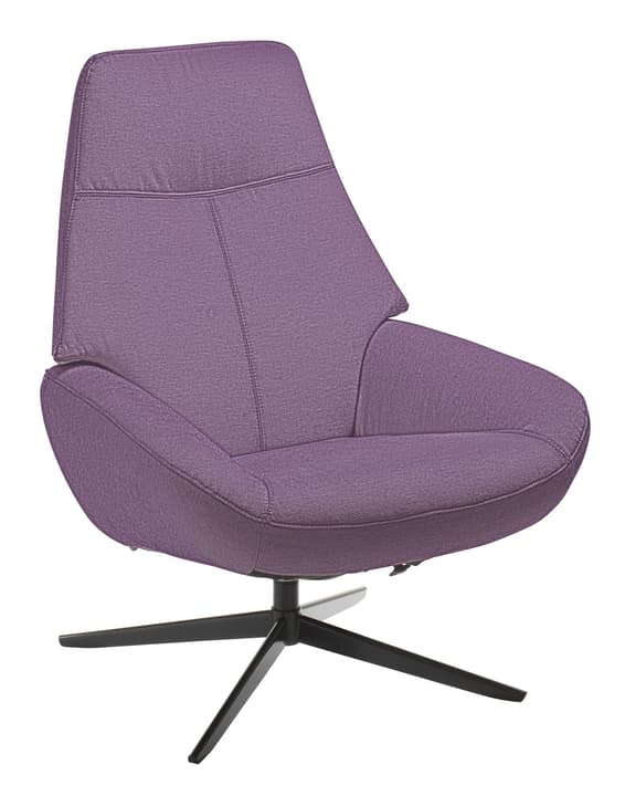 ARNOLD Fauteuil 402453907023 Dimensions L: 78.0 cm x P: 89.0 cm x H: 97.0 cm Couleur Violet Photo no. 1