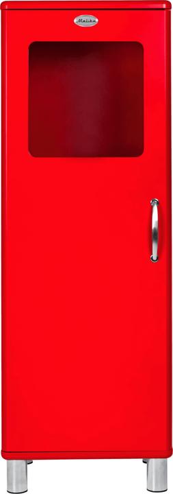 MALIBU Commode 407020400000 Dimensions L: 50.0 cm x P: 41.0 cm x H: 143.0 cm Couleur Rouge Photo no. 1