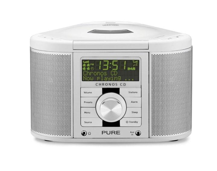 Chronos CD II - Weiss Radiowecker Pure 785300127360 Bild Nr. 1