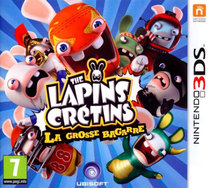 3DS - Les Lapins Crétins: la grosse bagarre Fisico (Box) 785300121836 N. figura 1