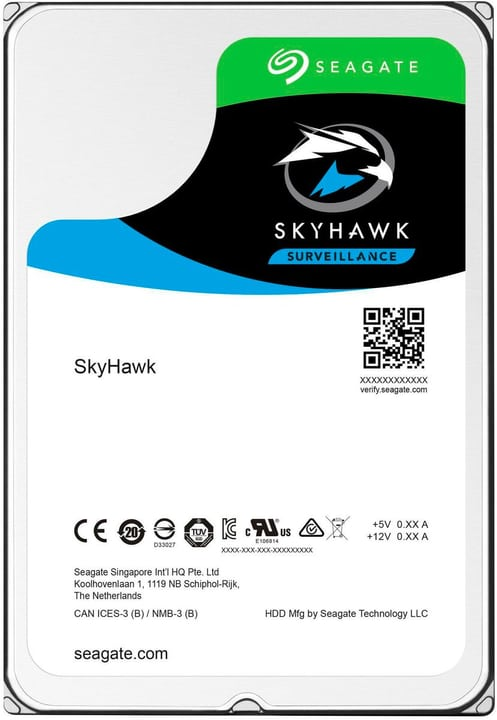 "SkyHawk SATA 3.5"" 4 TB Disque Dur Interne HDD Seagate 785300145864 Photo no. 1"