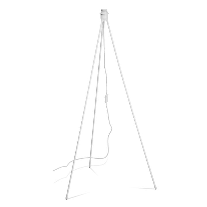 TRIPOD Piede per lampada a stelo 380023800000 Dimensioni L: 66.0 cm x P: 66.0 cm x A: 109.0 cm Colore Bianco N. figura 1
