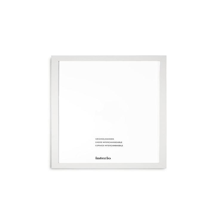 QUADROLINO Cornice 384006600000 Dimensioni quadro 30 x 30 Colore Bianco N. figura 1
