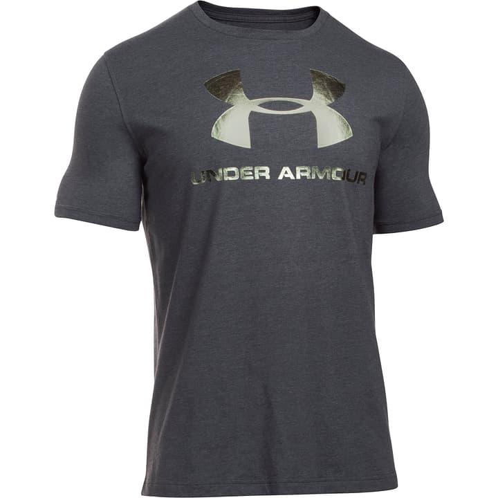 Sportstyle Logo SS Herren-T-Shirt Under Armour 460997700320 Farbe schwarz Grösse S Bild-Nr. 1