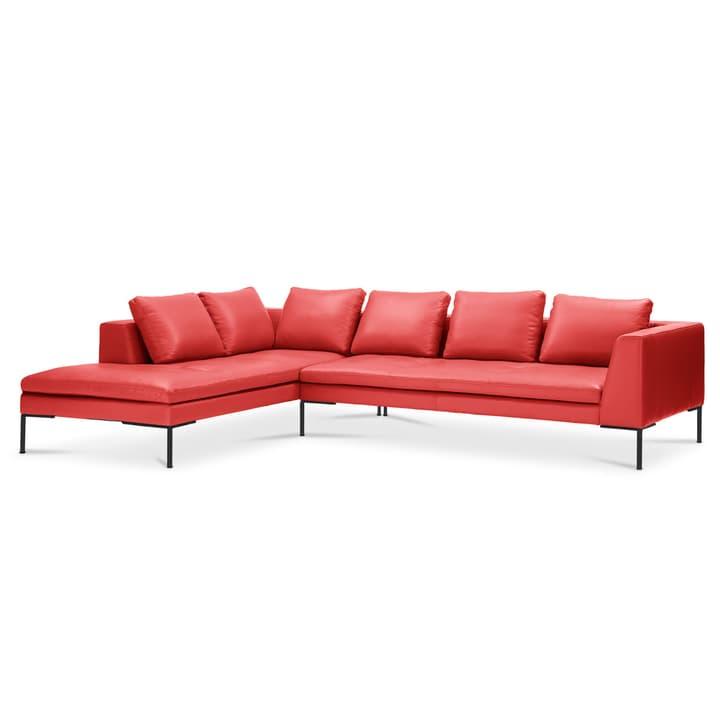 BRANDON Divano ad angolo Rec/3p 366126950330 Dimensioni L: 319.0 cm x P: 230.0 cm x A: 86.0 cm Colore Rosso N. figura 1