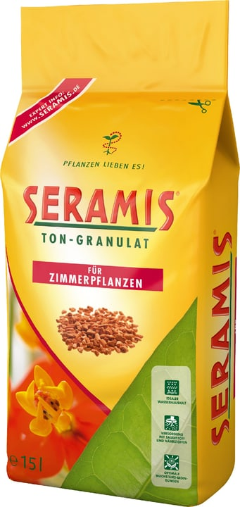 Grains d'argile pour les plantes d'intérieur, 15 l Seramis 657609000000 Photo no. 1