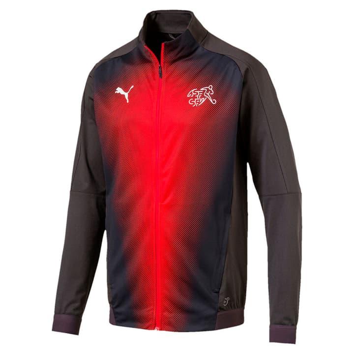 Suisse Stadium Jacket Fussball-Jacke Schweiz Puma 498280500486 Farbe anthrazit Grösse M Bild-Nr. 1