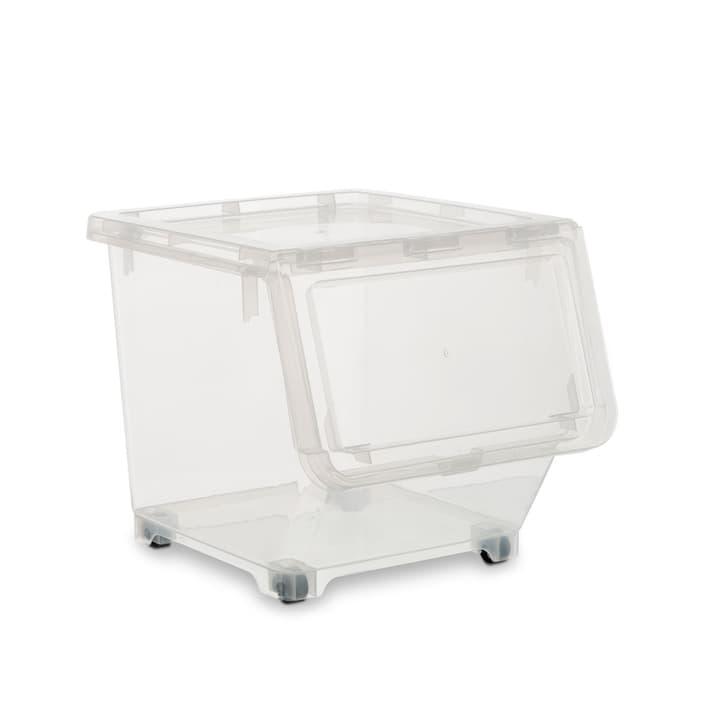 TABBY Boîte de plastic 386192300000 Dimensions L: 33.0 cm x P: 38.5 cm x H: 31.0 cm Couleur Transparent Photo no. 1